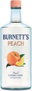 Burnett's Vodka Peach 750ml - Case of 12